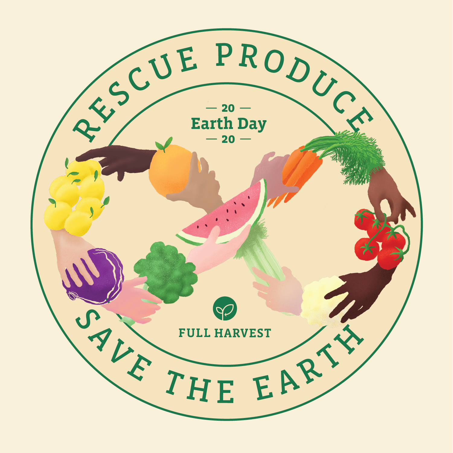 Rescue Produce Save the Earth Full Harvest